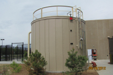Storage Tank Color Paneling System