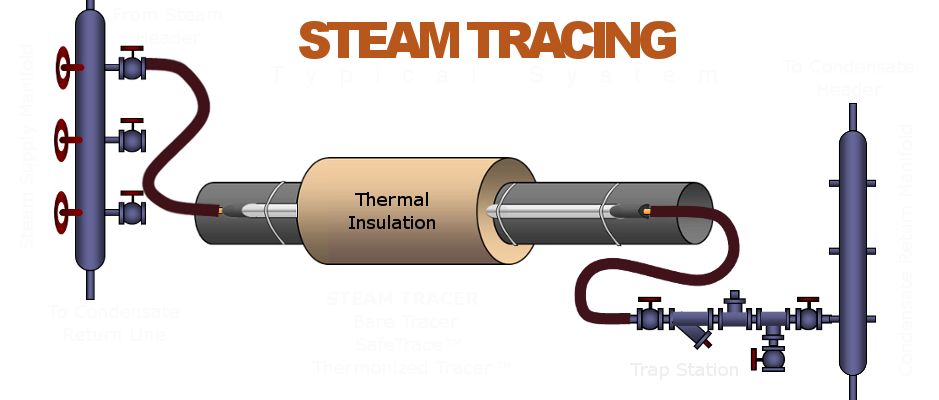 Steam Tracing Diagram